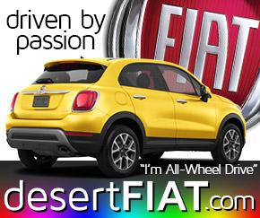 Desert Fiar 500 car for your lifestyle