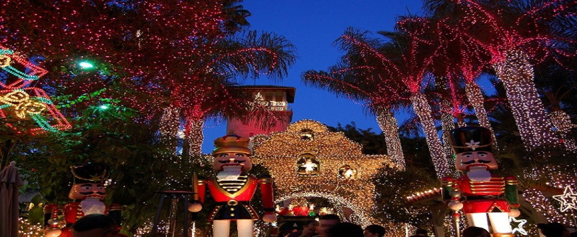 CA-SoCal Riverside Mission Inn Festival of Lights 2016
