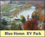 Blue Heron RV park... Sweet RV park on de river