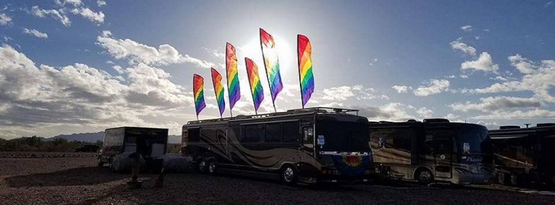 Quartzsite Arizona Annual RV & Tent Show 2020