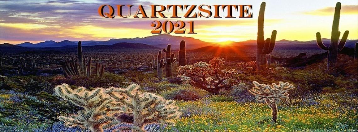 Quartzsite Arizona Annual RV & Tent Show 2021