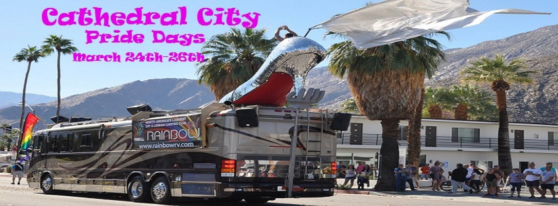 CA-Cathedral City Pride Days Mar 24th-26th