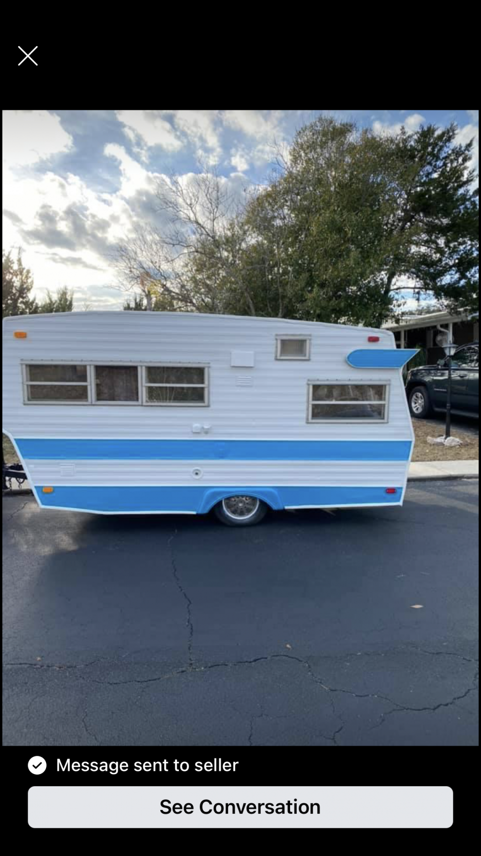 We are on our way to pick up our Vintage Shasta camper. Any name ideas? Sorry we missed the AZ rally. See you at the next one.