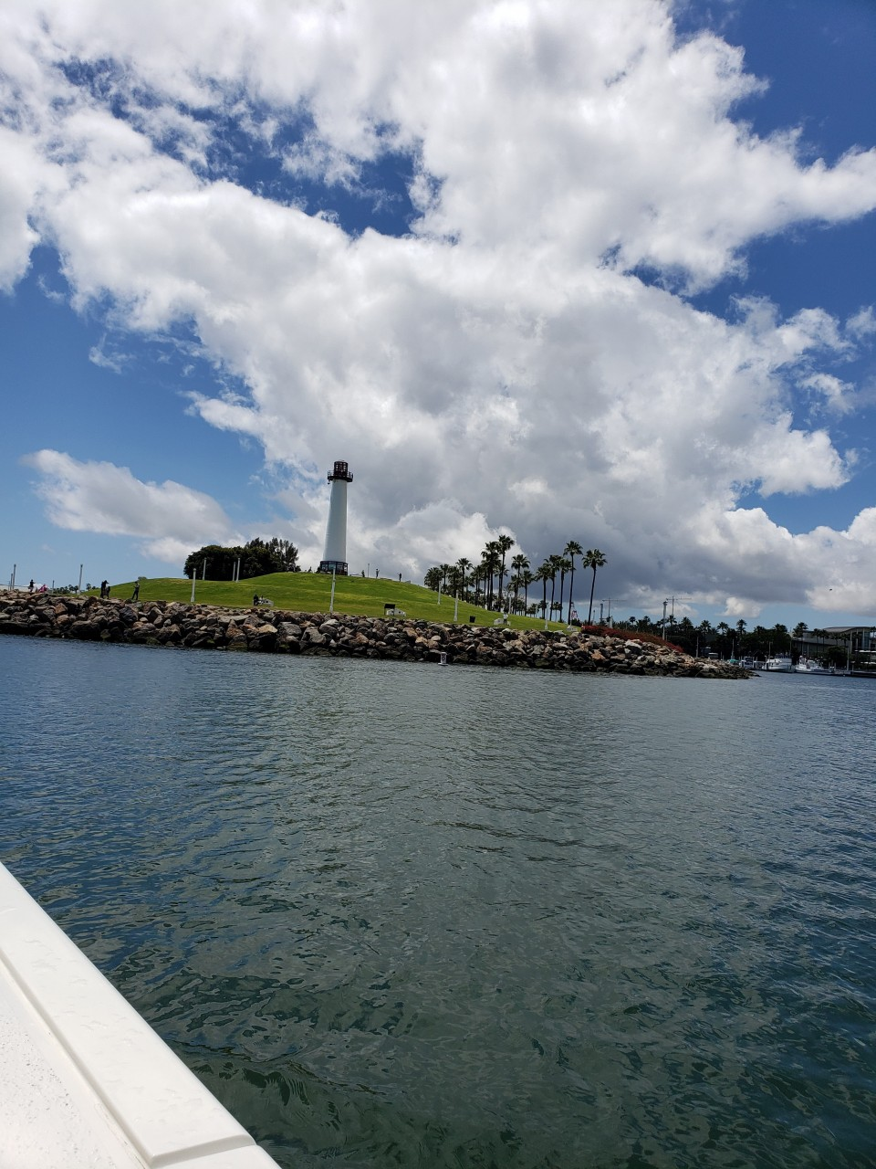 Long Beach California is certainly a beautiful place to go boating to experience the harbor.