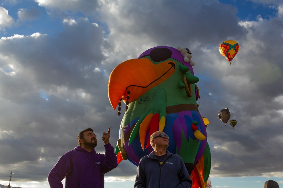 Scott and Oscar sent images of the New Mexico event