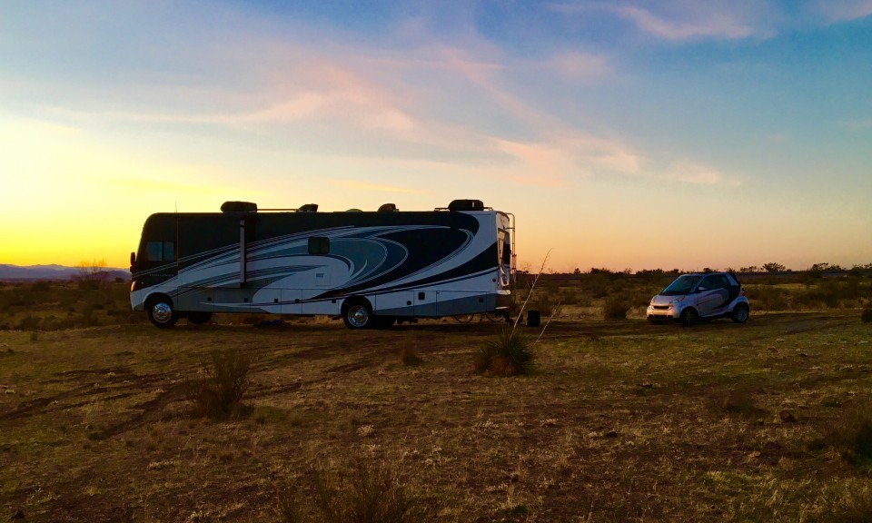 Boondocking in the Organ Mountains