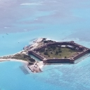 Ft. Jefferson National Historic Site in the Gulf, south of Key West.  Thank you Rand for the wonderful plane ride.
