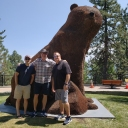 Penny Bear at Lake Tahoe.