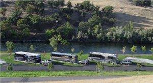 Blue Heron RV park Klamath Ranch